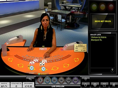 live blackjack kroon casino